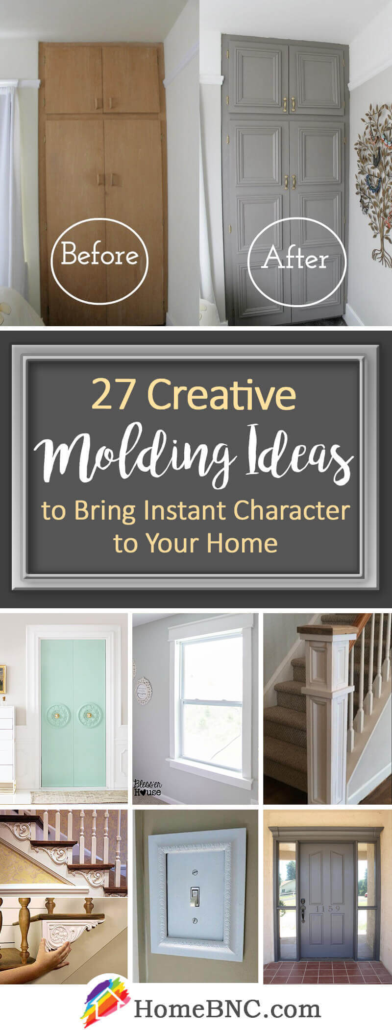 27 Unique Molding Ideas To Make Your Home Unforgettable