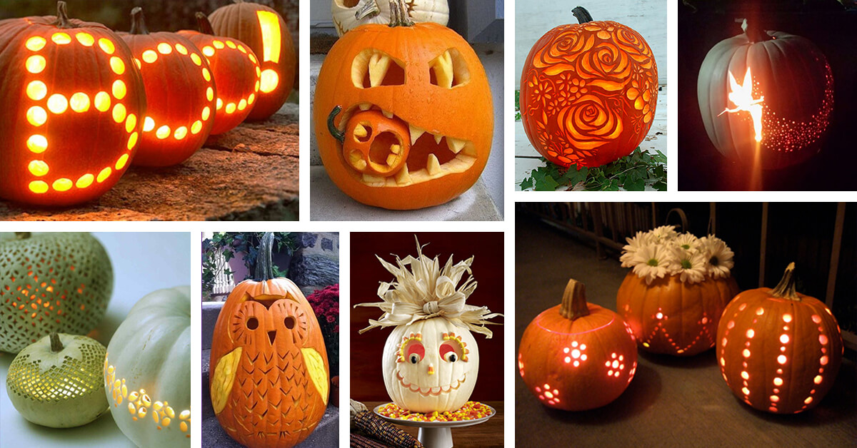 53 Best Pumpkin Carving Ideas And Designs For 2021