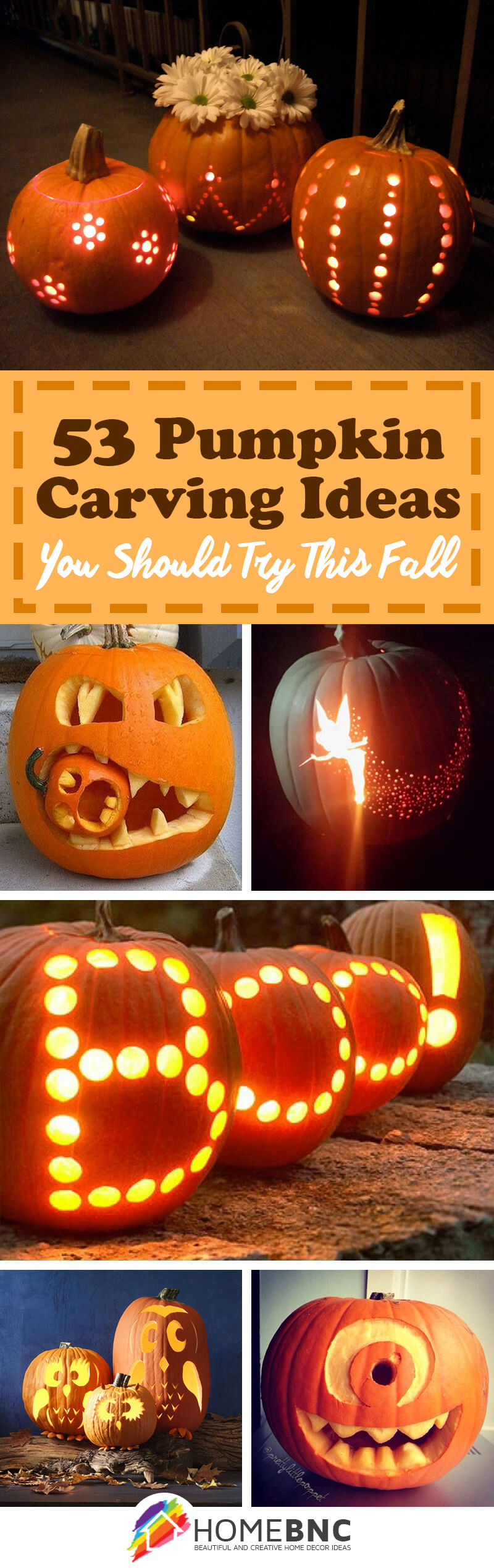 53 Best Pumpkin Carving Ideas and Designs for 2017