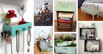 Best Recycled Old Drawer Ideas