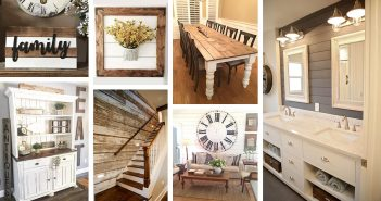 Rustic Shiplap Decor Ideas