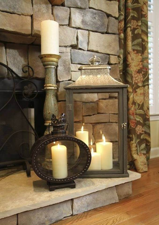 Decorating with Candle Ideas for Statement Lanterns
