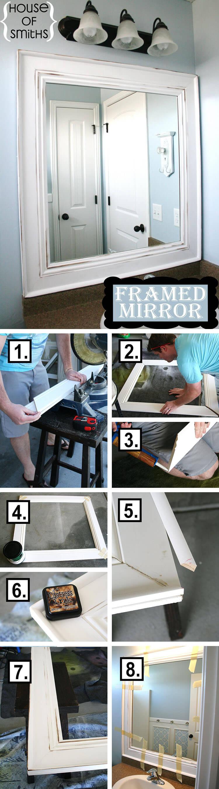 29 Lust auf DIY Spiegel Ideen, die in Ihrem Zuhause gut aussehen werden