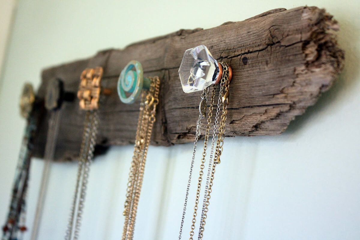 Hipster Friendly Rustic Necklace Hanger