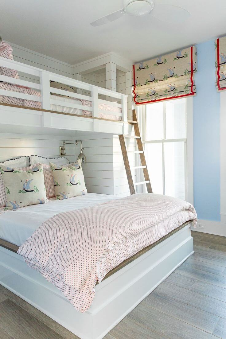 Charming Bright And Breezy Nautical Teenage Boy Room