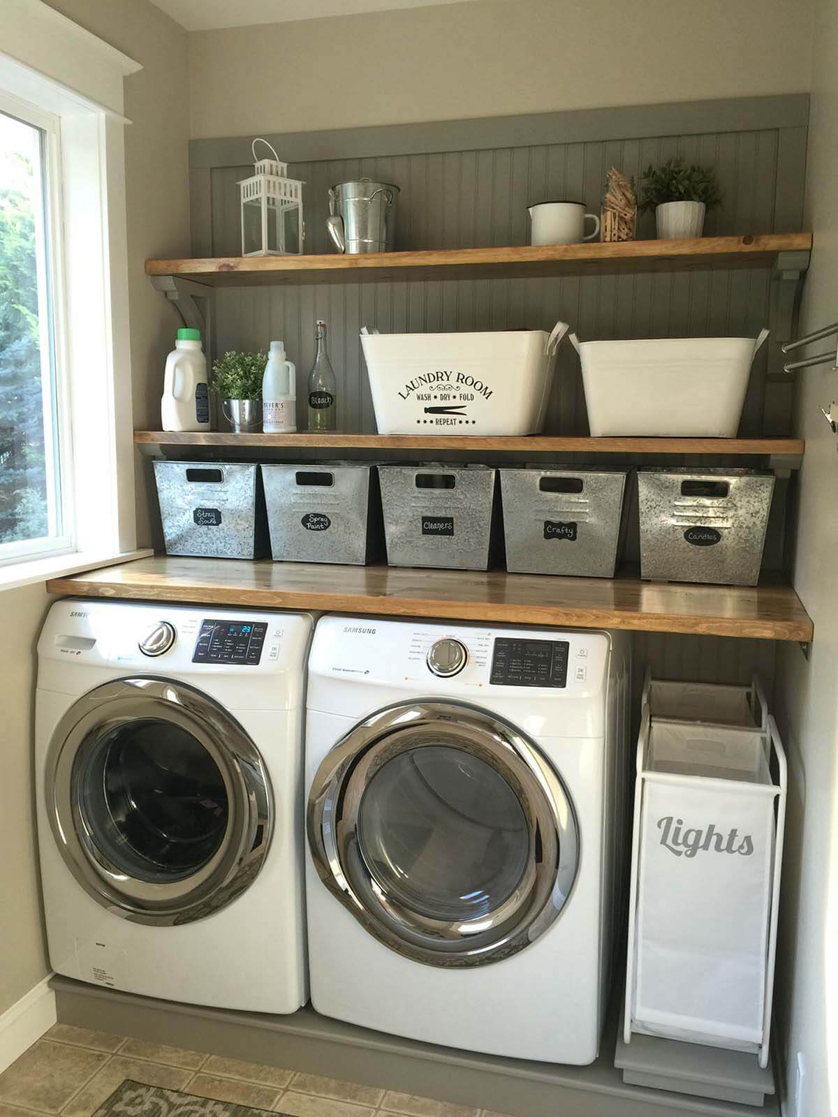 Cozy Country Laundry Room