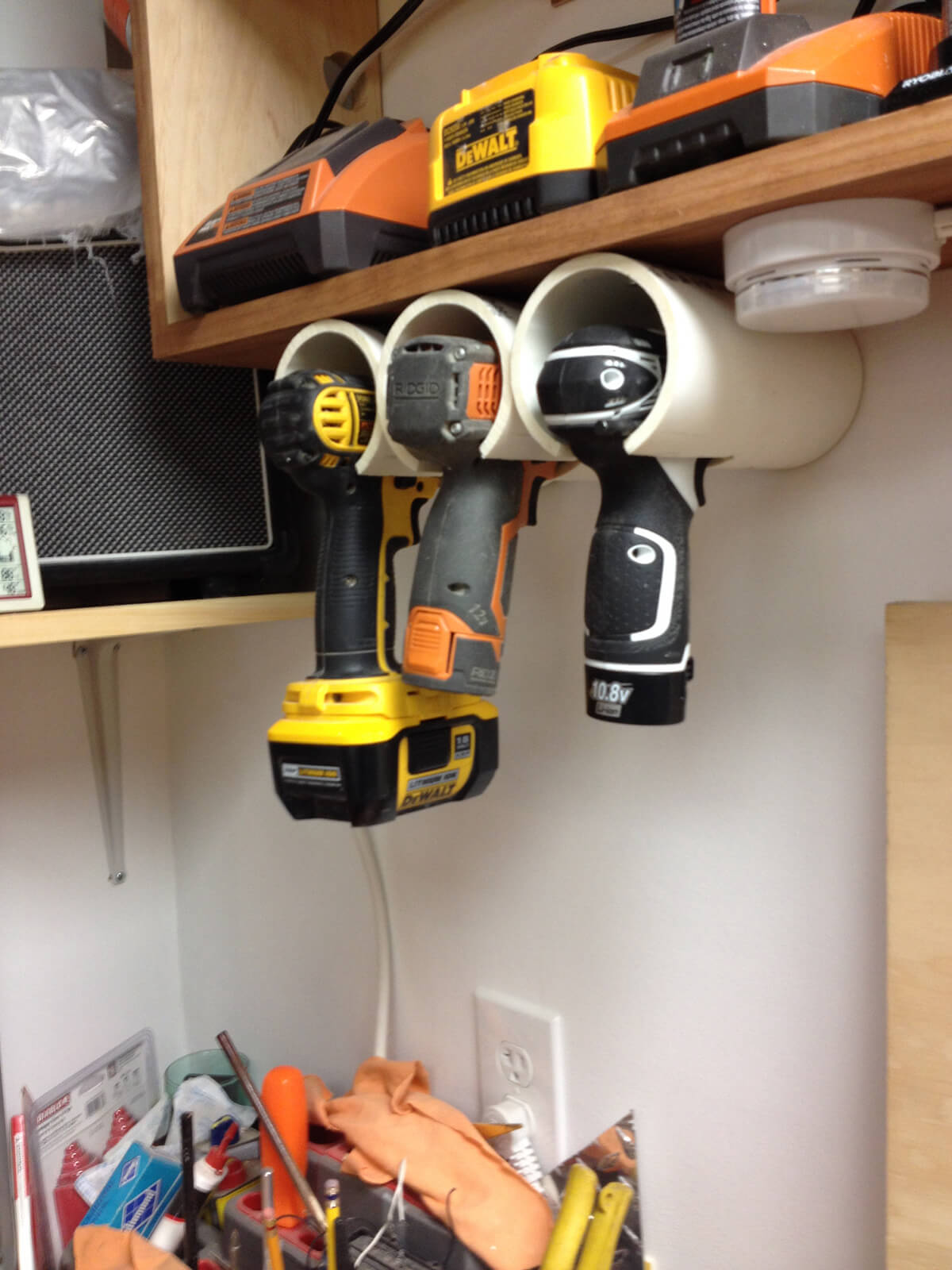 Handy Hanging Power Tool Holsters