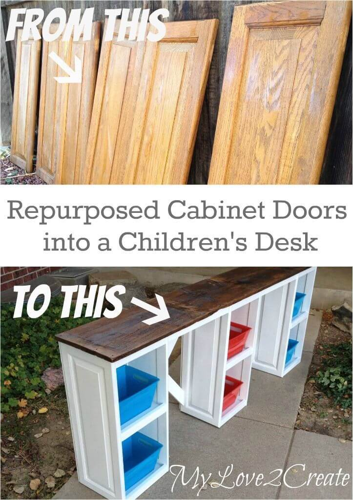 19 Best Repurposed Cabinet Door Ideas And Designs For 2019
