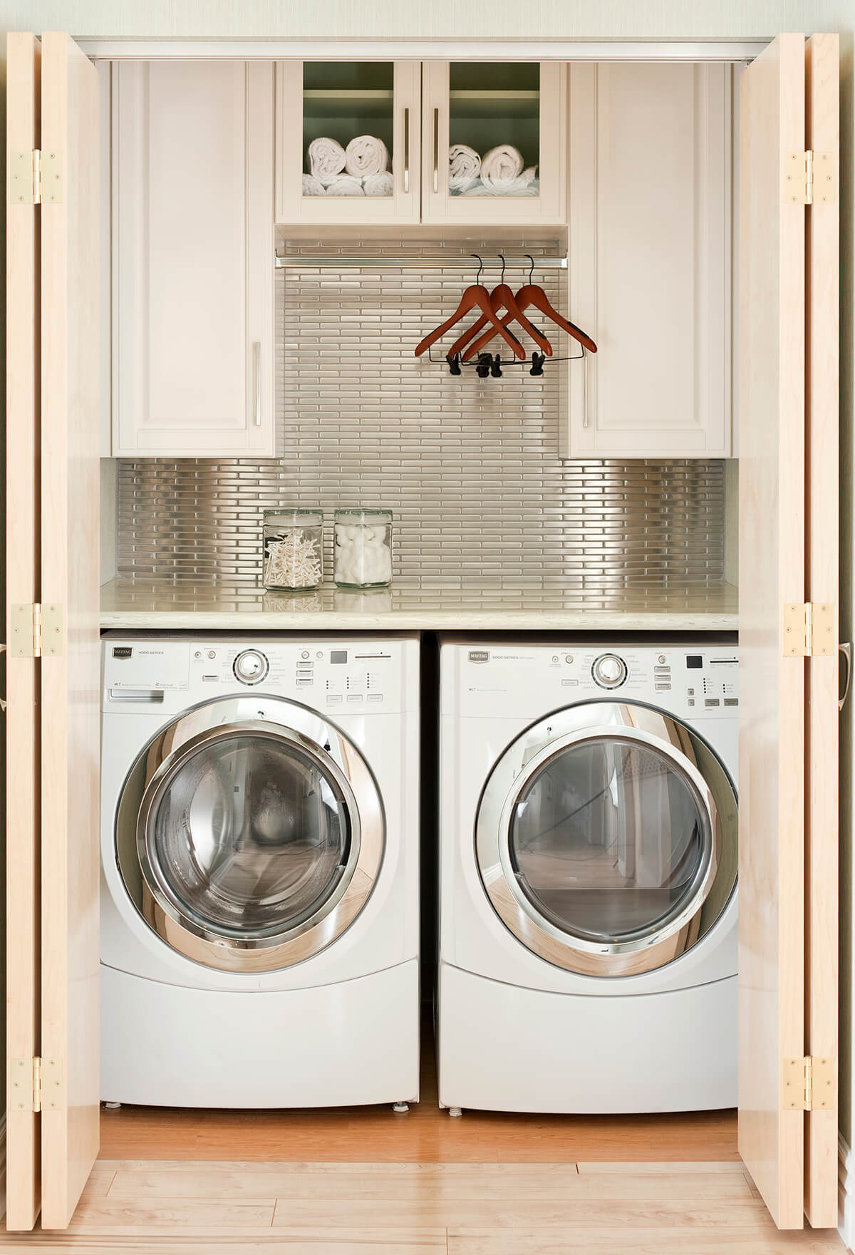 Perfect Space Age Closet Surprise Laundry Room