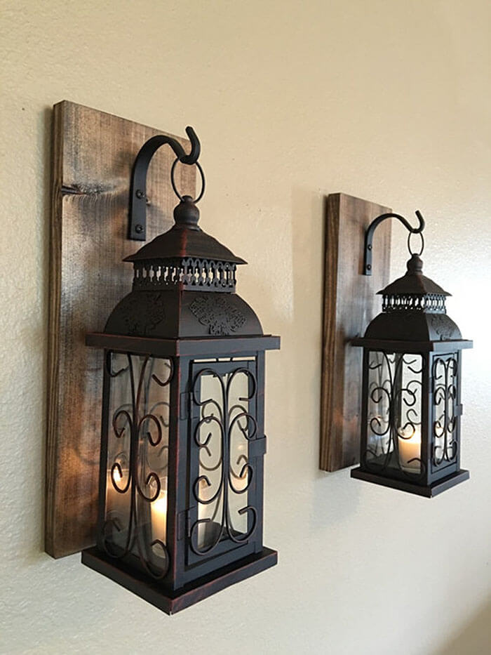 Two Lanterns Suspended in Time