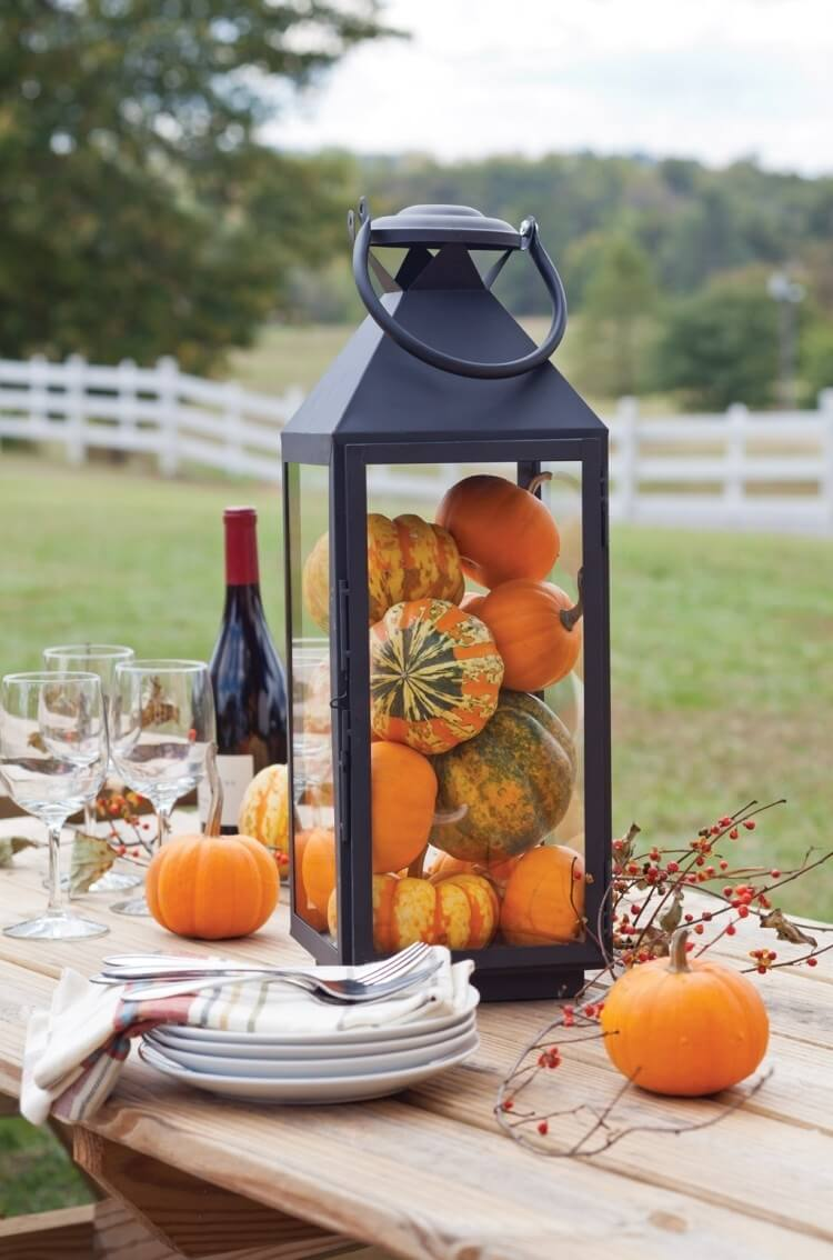 Picnic in the Pumpkin Patch Lantern