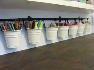 Kids Craft and Coloring Bucket Bar
