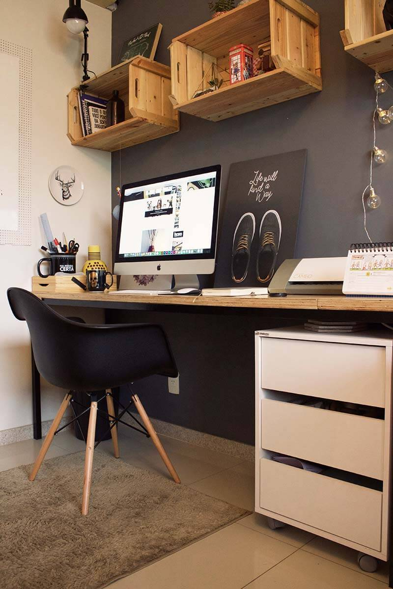 Attractive Teen Boy Approved Contemporary Workspace