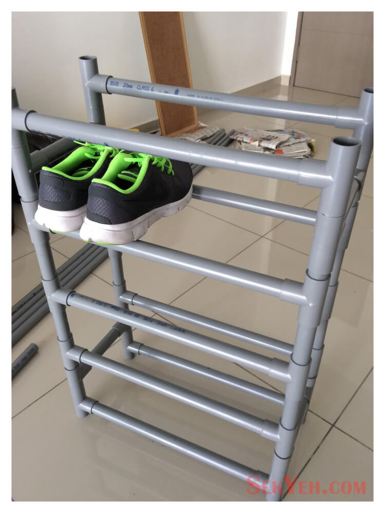 Durable Home Gym Shoe Holder