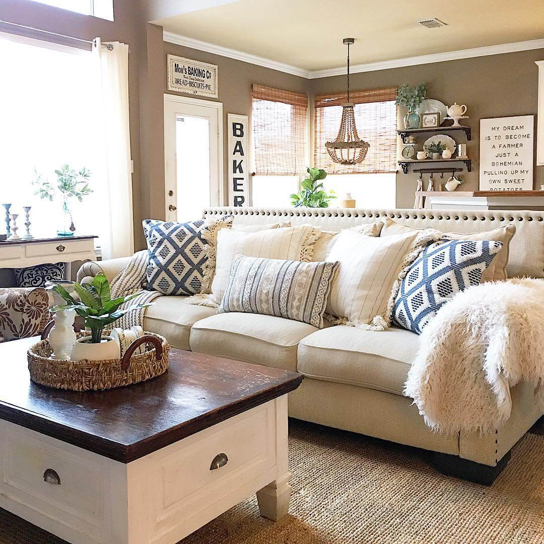 Cottage Living Room Designs 23 best beige living room design ideas for 2018 our favorite country cottage living room look sisterspd
