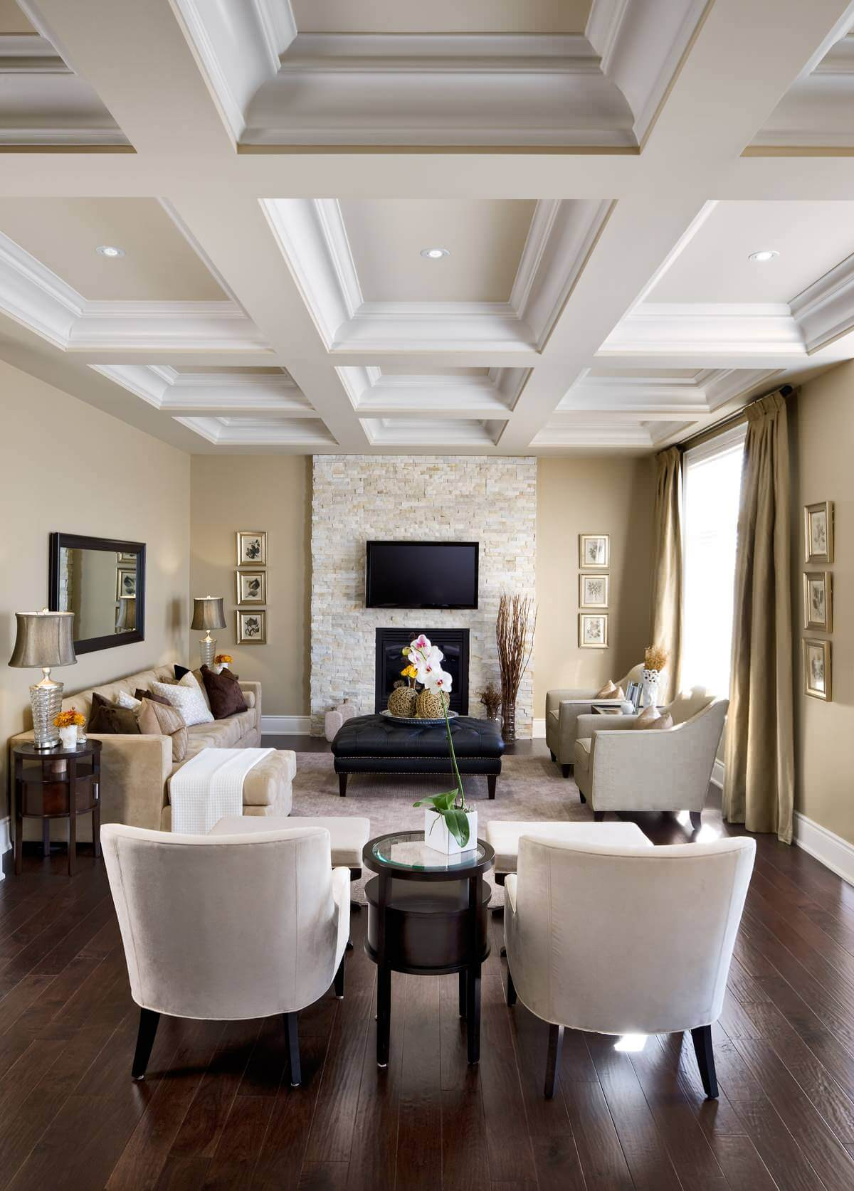 Formal Spaces that Are Impressive and Inviting