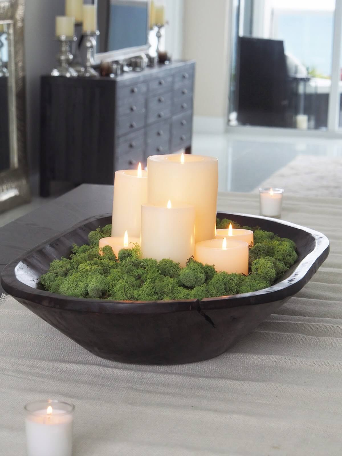 Light and Leafy Table Basin