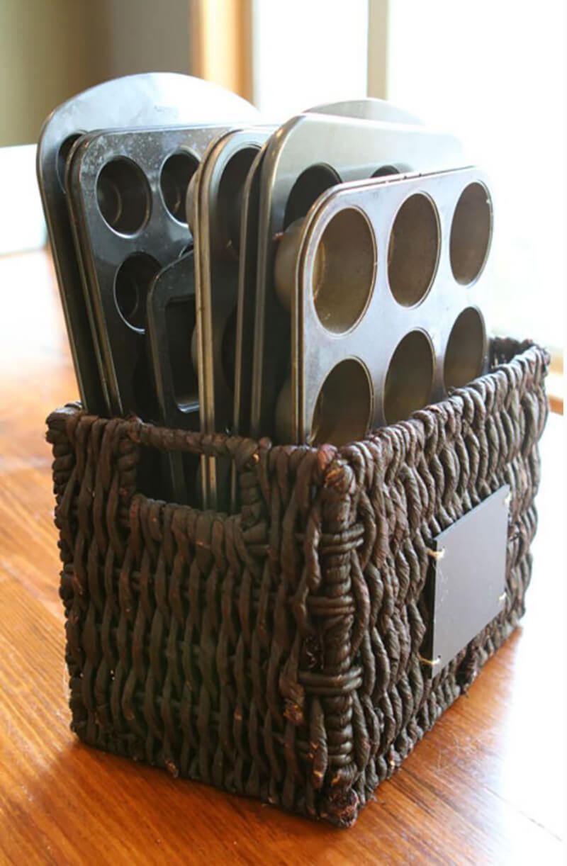 All Your Muffin Tins in One Basket