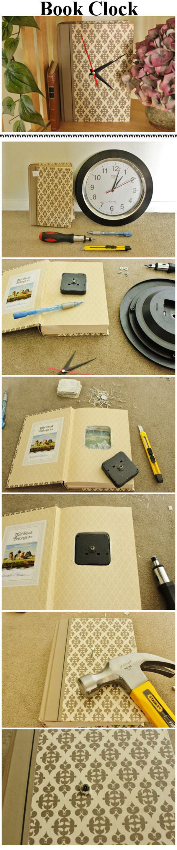 26 Enchanting DIY Old Book Craft-Ideen zur Wiederverwendung alter Bücher