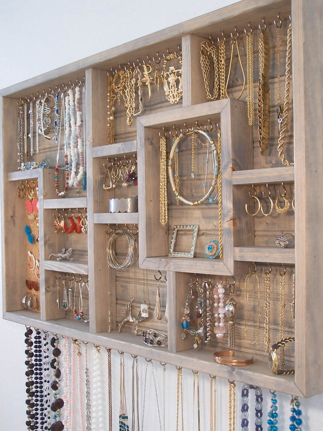 Shadow Box Jewelry Display