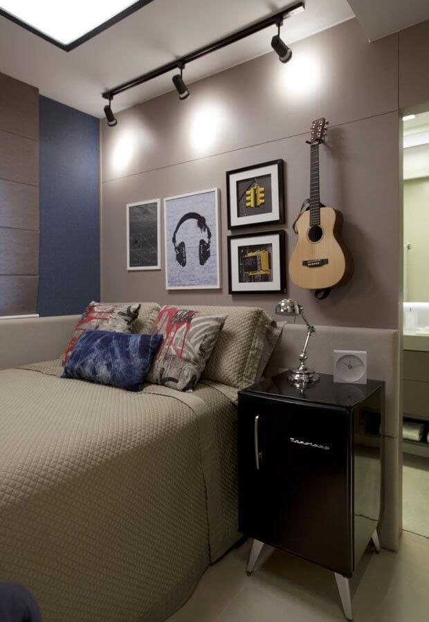 Superb Teenage Boy Room For Music Lovers