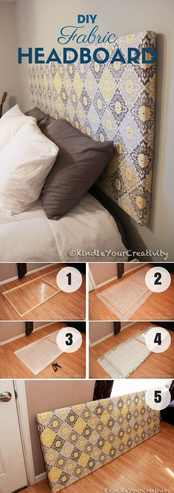 Pick Your Pattern Bed Makeover Diy Project