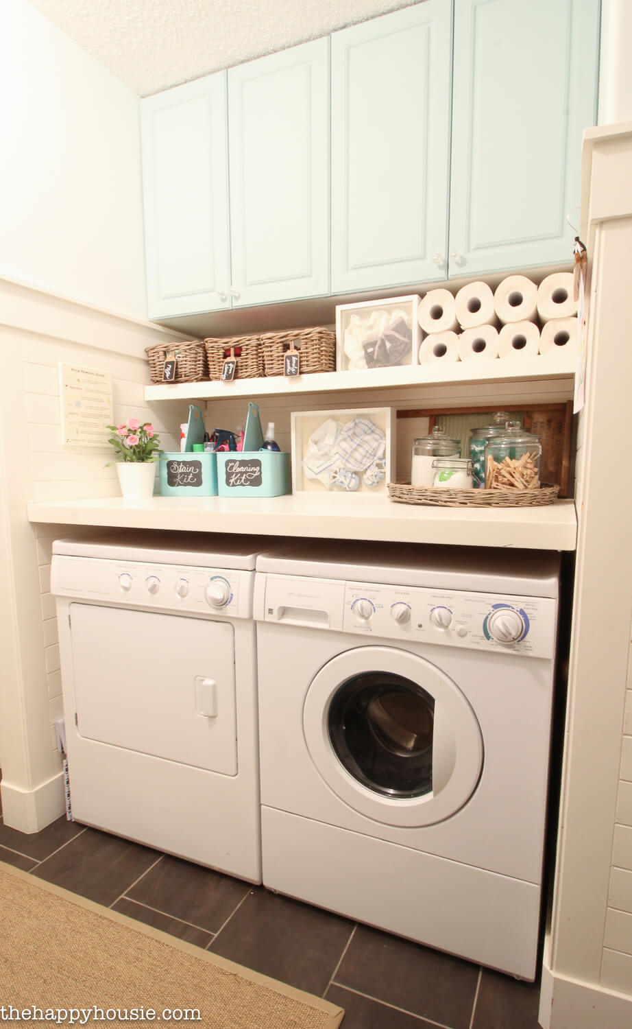 All The Aqua You Need Laundry Room