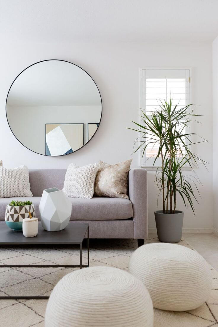Winter White for All Living Rooms