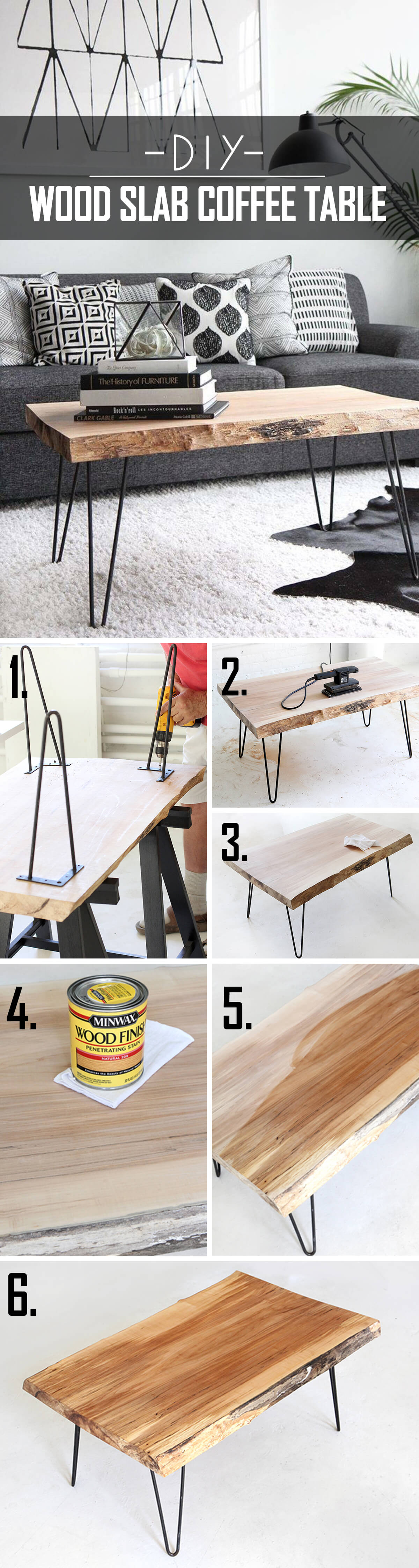 Build Your Own Hardwood Coffee Table