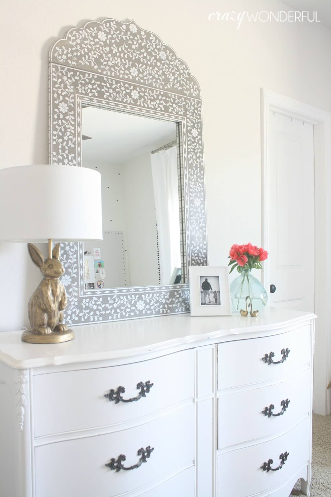 Beautiful Detailed Princess Mirror