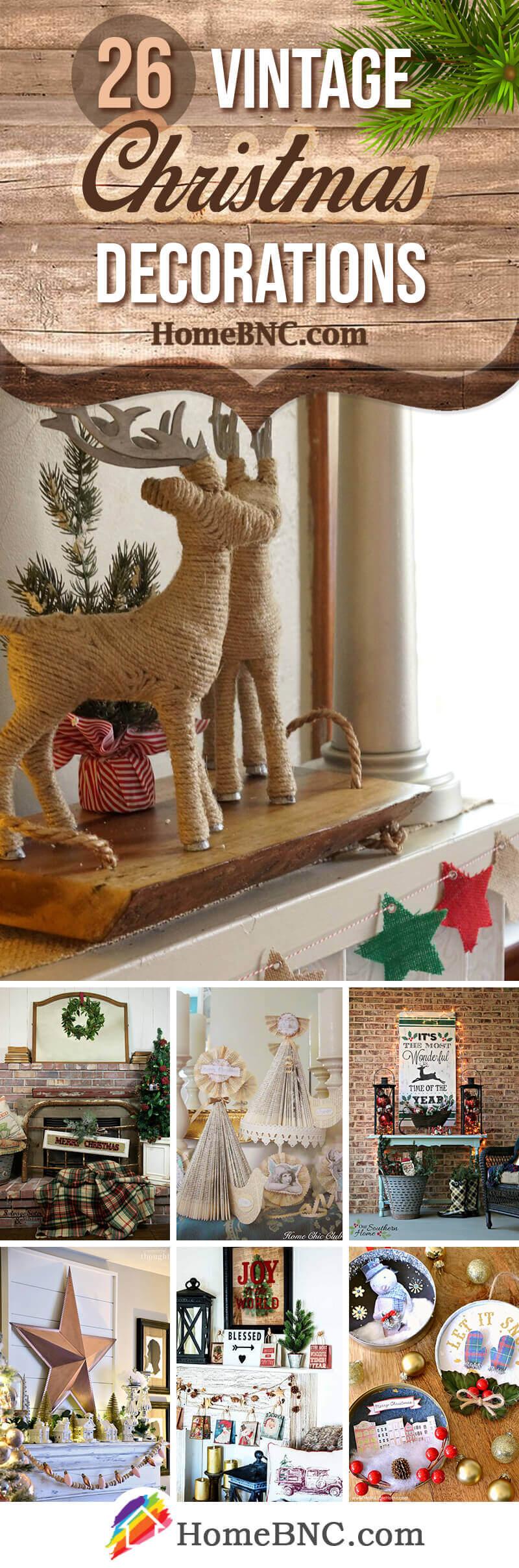 Best Vintage Christmas Decorations
