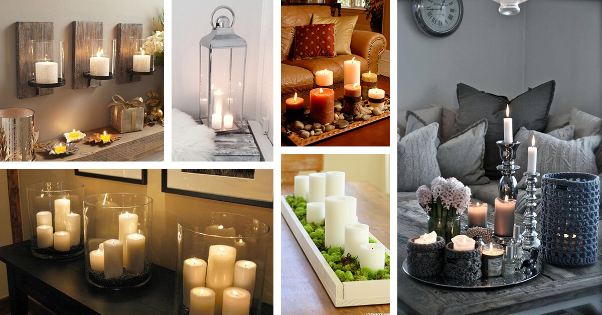 & 34 Best Candle Decoration Ideas and Designs for 2018