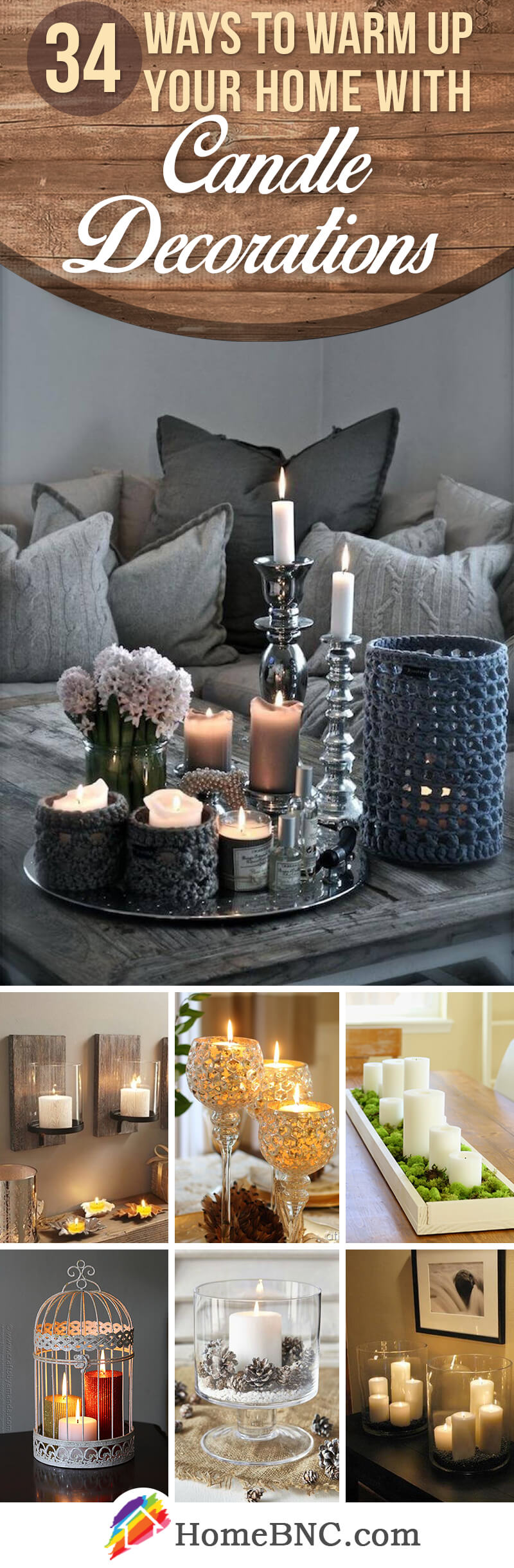 34 Best Candle Decoration Ideas and Designs for 2020