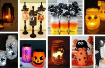 DIY Mason Jar Halloween Crafts