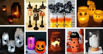 DIY Mason Jar Halloween Crafts