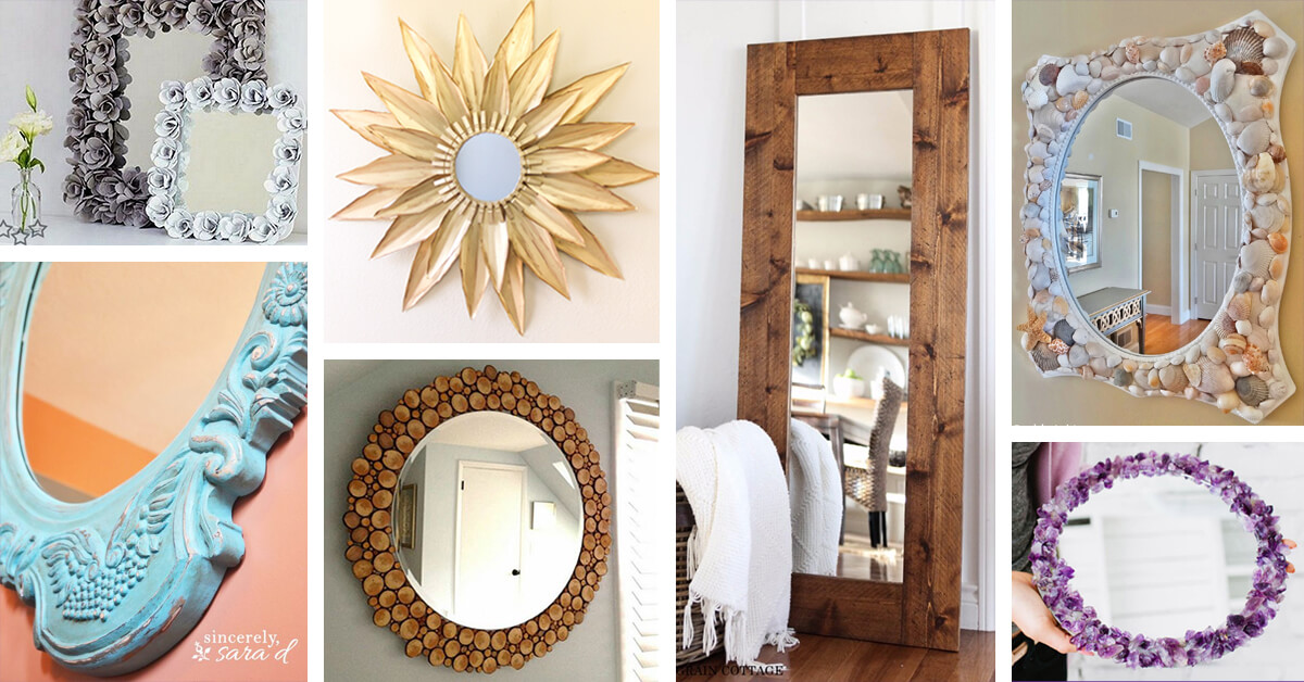 29 Best Diy Mirror Ideas And Designs For 2019