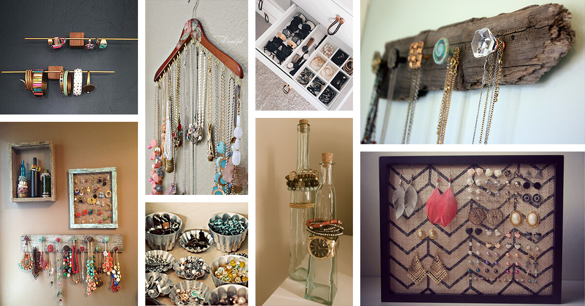 27 Best Jewellery Organizer Ideas And Designs For 2021