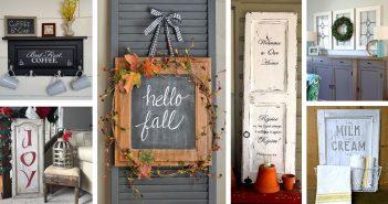 Repurposed Cabinet Door Ideas