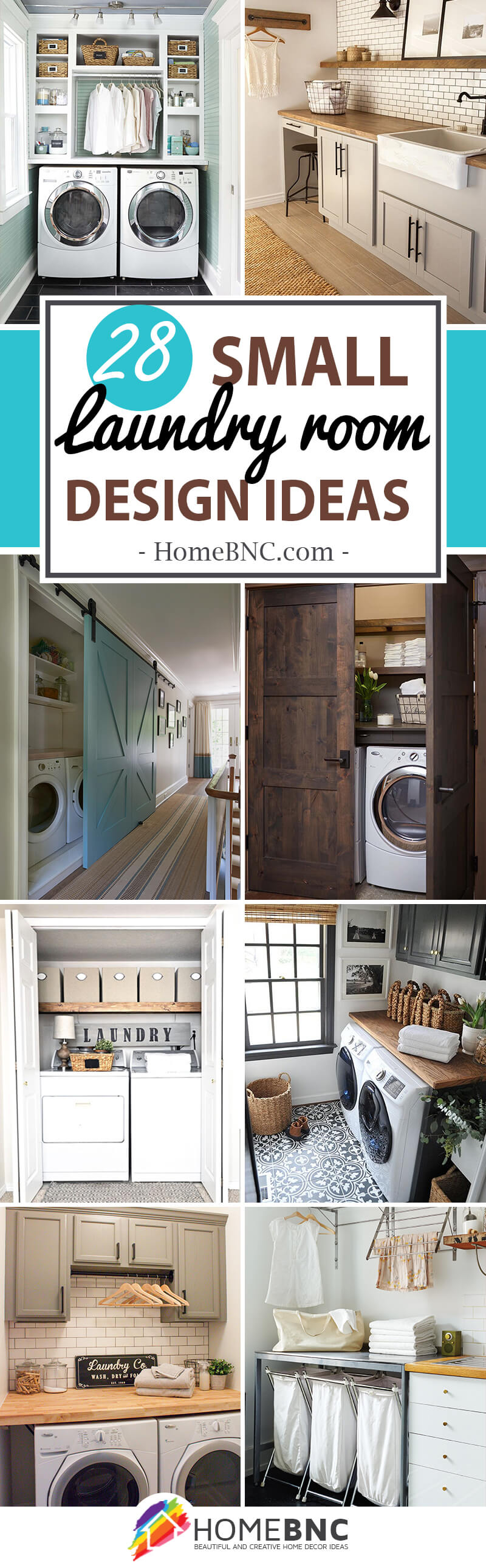 28 Stylish Small Laundry Room Design Ideas To Inspire You