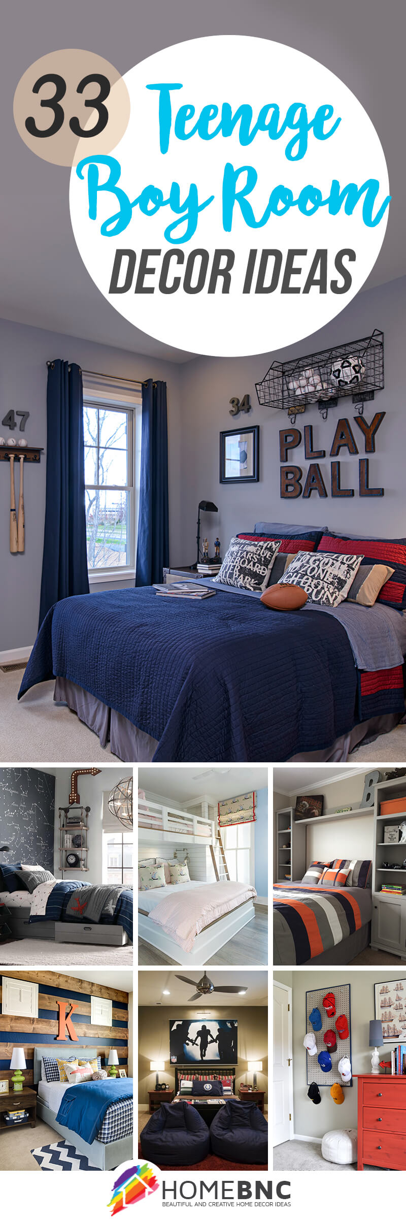 33 On Trend Teenage Boy Room Decor Ideas From Sophisticated To Sporty
