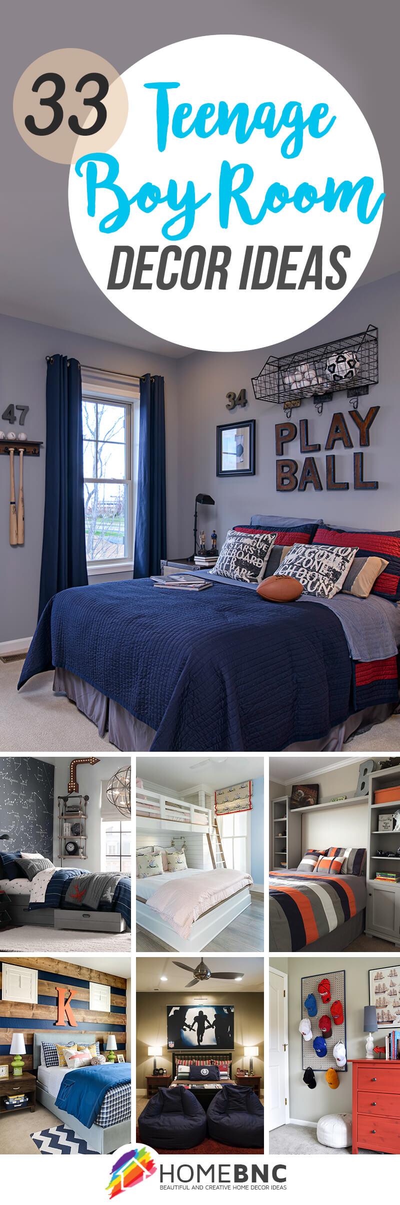 Teenage Boy Room Decor Ideas Pinterest Share Homebnc Homebnc