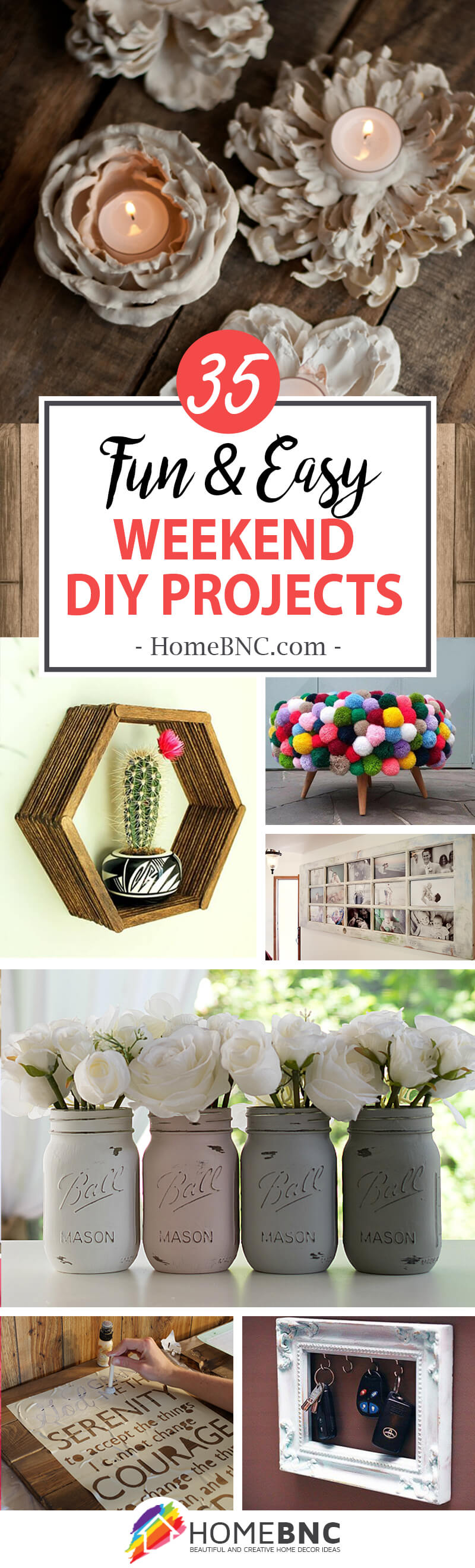 35 Exciting Weekend Diy Home Decor Projects For Making Your Own Trendy