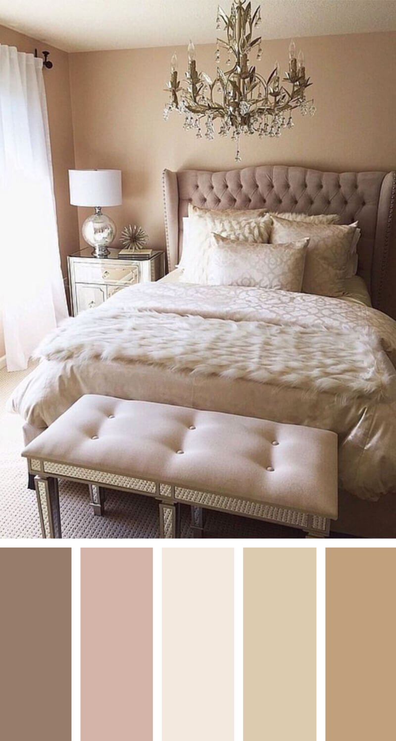 Perfect Nude Bedroom Color Scheme Ideas Photo