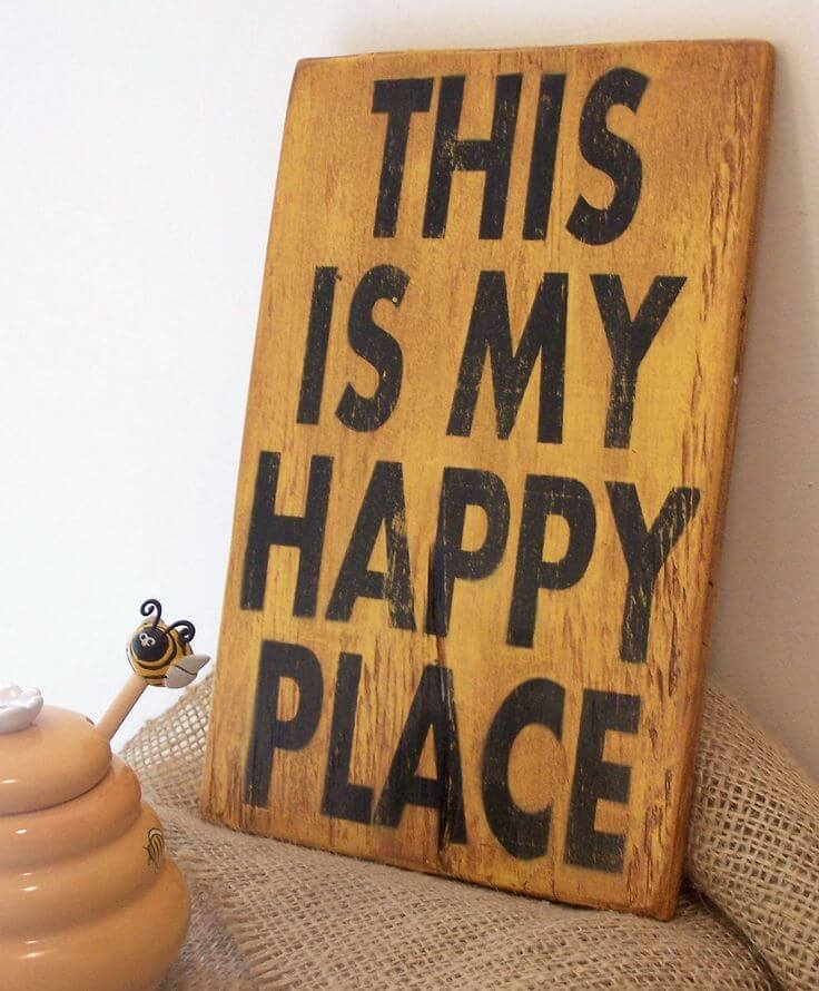 Inspirational Quotes On Wood: 26 Best Rustic Wood Sign Ideas And Designs With