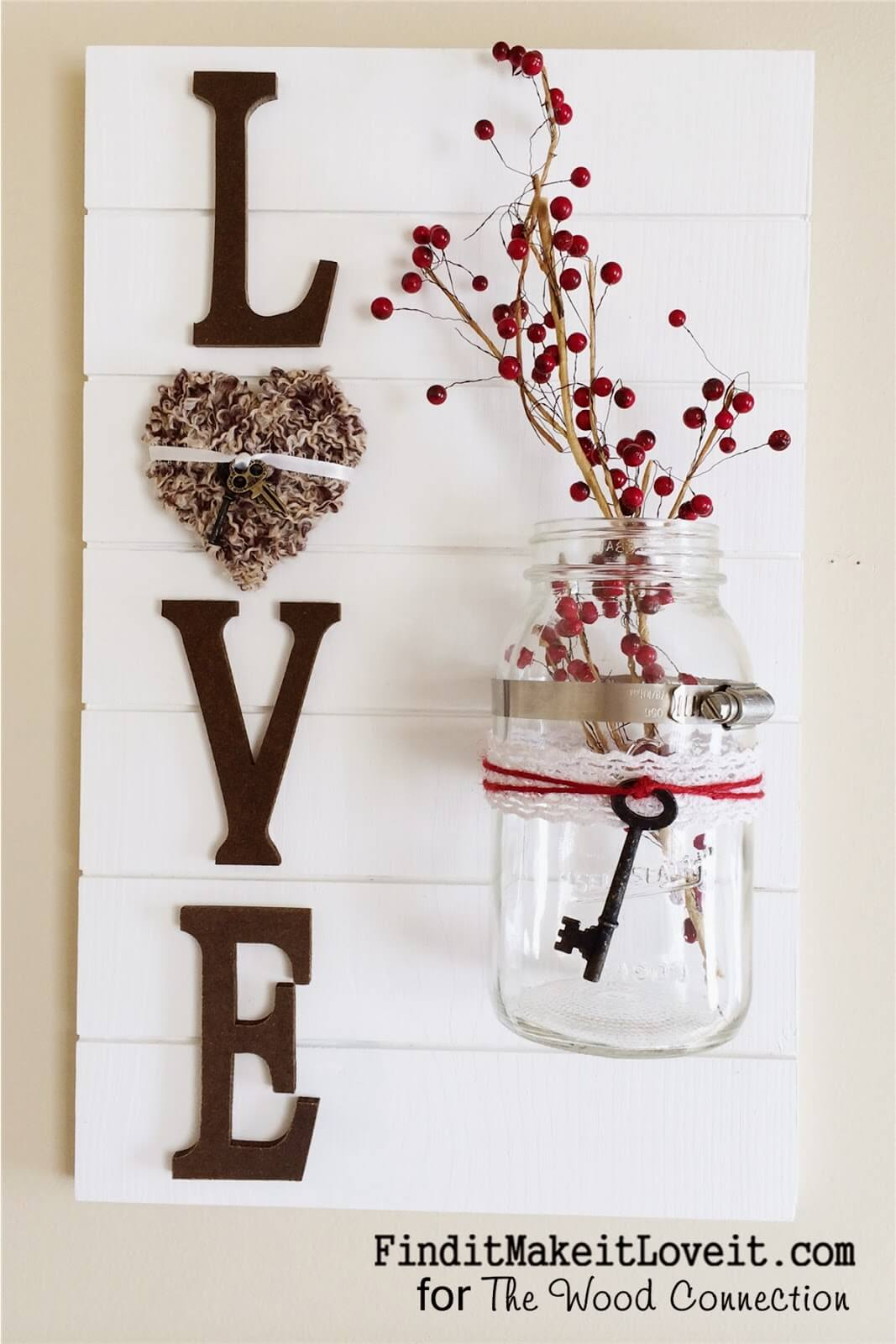 Mason Jar Wall Decor How To : Best mason jar wall decor ideas and designs for