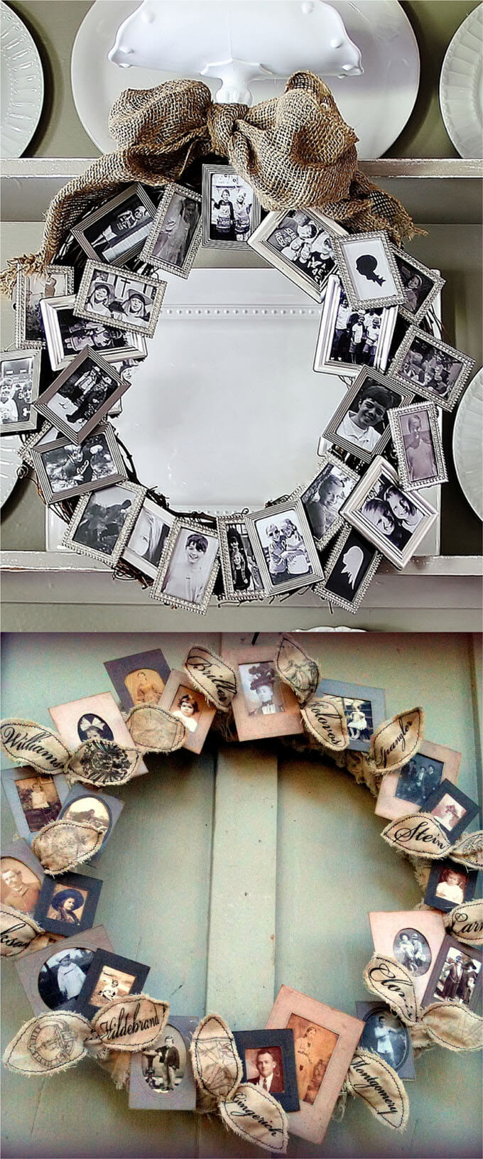 Hang a Wreath of Smiles