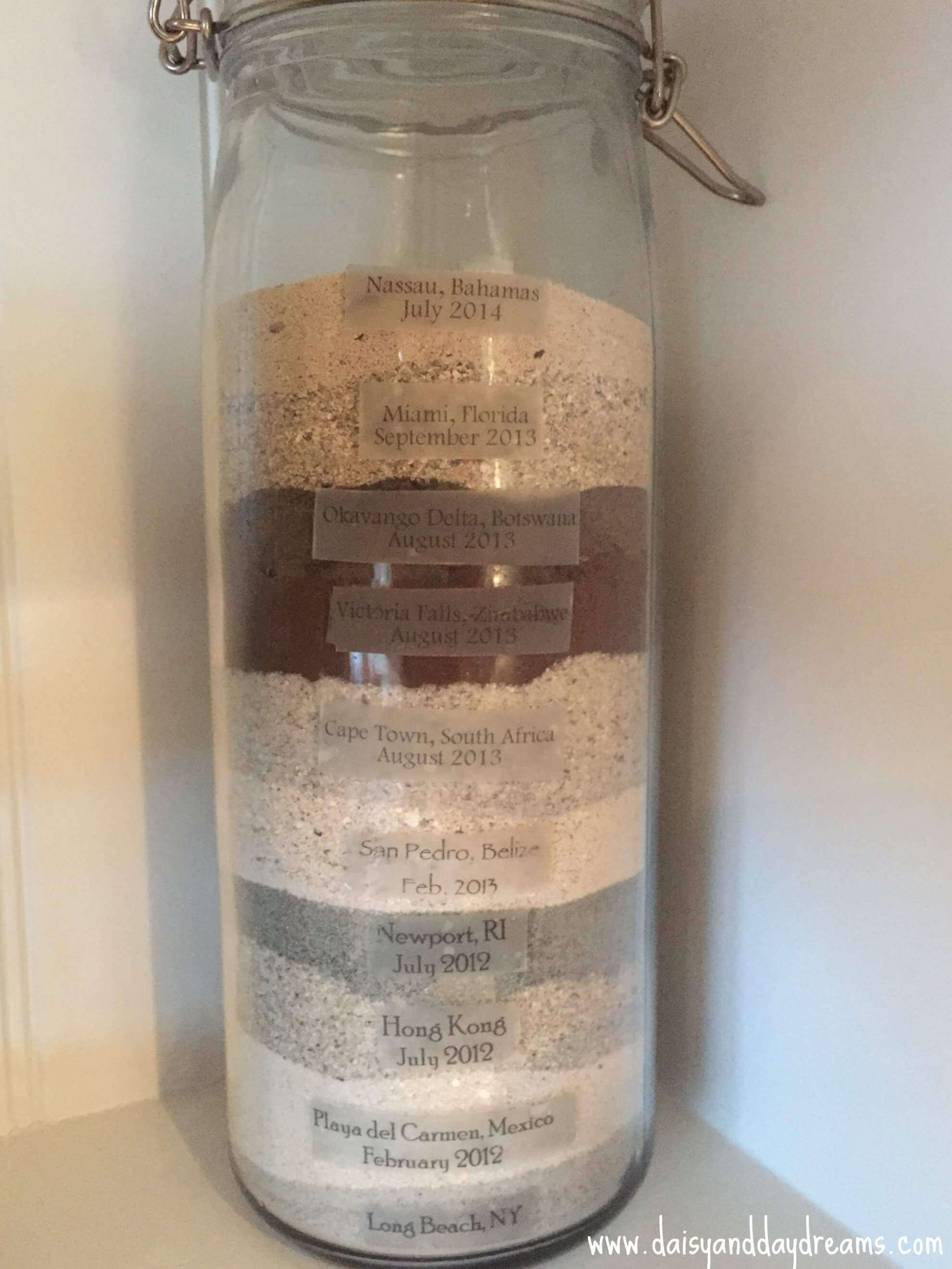 Sand and Dirt Sample Jar