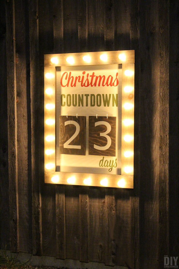 Countdown to Christmas with Broadway Lights