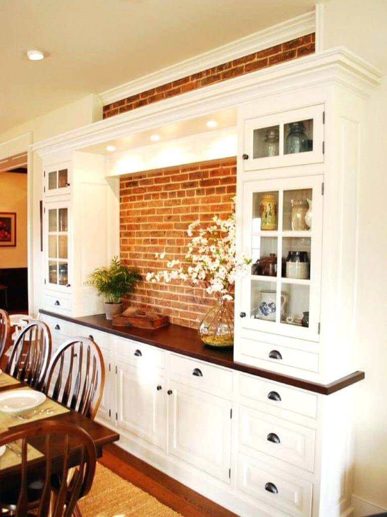 dining room cupboard storage | 32 Best Dining Room Storage Ideas and Designs for 2020