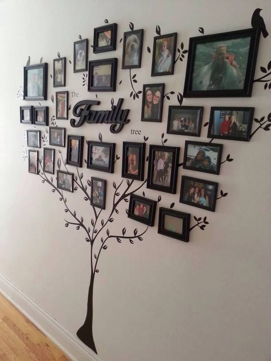 Family Tree Branches out and Blooms & 32 Best Family Inspired Home Decor Ideas and Designs for 2018